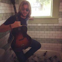 Rub a dub - Keith in the tub