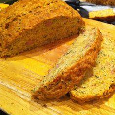 ham cheese chive bread, recipe, lorraine pascale bread recipe,