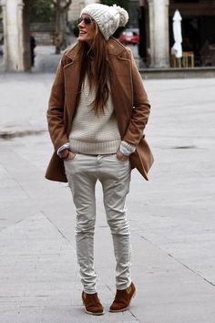 Choies-coat-bershka-pants