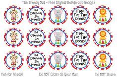 Circus <3 Retired images uploaded as freebies! Enjoy! ~ FREE Digital Bottle Cap Images!! https://www.facebook.com/thetrendyowlUS http://www.thetrendyowl.com
