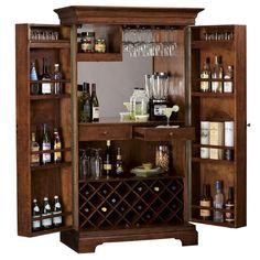 Howard Miller Barossa Valley Wine & Bar Cabinet 695-114 - Home Bars USA - 1