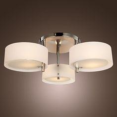 Chandelier Modern Living 3 Lights - USD $ 49.99