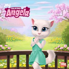 We all need some spring magic, don't you think? Well, watch this space! I've got a surprise for you… xoxo, Talking Angela Watch This Space, Cartoon Art, My World, The Funny, Tinkerbell, Disney Characters, Fictional Characters, Anime, Clip Art