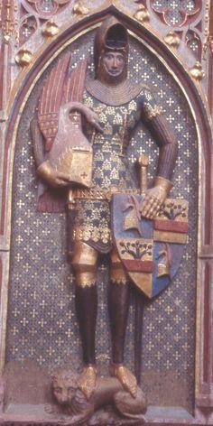 Feet and shins on this effigy -- myArmoury.com