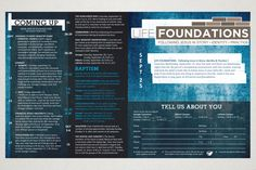 Granger Community Church 2013 Bulletins on Behance