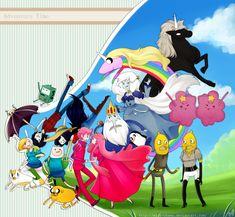 Adventure Time Anime | Adventure Time - Hora De Aventura by Mizz-chama