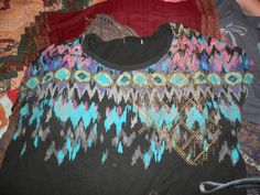 My Aztec print top.... an equivalent is shown