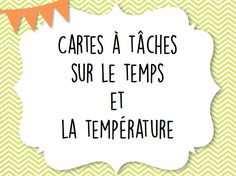 La Photocopieuse du Stagiaire: cartes à tâches GRATUITES! Maths 3e, Math Measurement, 5th Grade Math, Grade 1, Math Numbers, Science, Teaching French, Too Cool For School, Teaching Tools