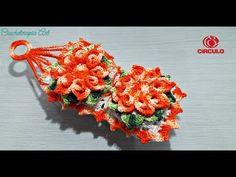 Porta Papel Higiênico Flor Laranja - Barroco Premium YouTube