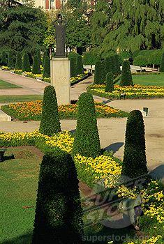Parque del Retiro in Madrid spain Madrid, Spanish Garden, Spanish Classroom, Private Garden, Topiary, Morocco, Switzerland, Wales, Vacations