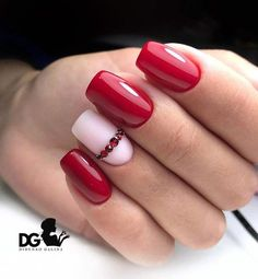 What Christmas manicure to choose for a festive mood - My Nails Acrylic Nail Designs, Nail Art Designs, Pedicure Designs, Gel Pedicure, Nails Design, Gorgeous Nails, Pretty Nails, Acrylic Nails Natural, Minimalist Nails