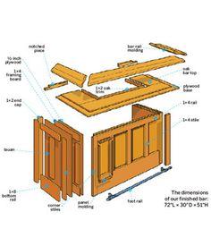 diy diy basement bar plans. Build It or Buy  Home Bar Wayfair Free DIY Plans 8 Easy Steps plans and