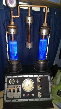 Mad Scientist Lab bubbler machine. All valves and switches are functional, protected with an internal GFCI.