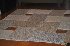 Stephanie runs a DIY blog calledA Scoop of Sherbertout of her home in Kenosha, WI. Several years back, the Pinterest-and-project loving lady fell in love with her friend's new glamorous rug. But Stephanie was shocked when her friend told her that she made it herself using carpet squares and duct tape. Of course, she had... View Article