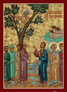 By Ched Myers, on Luke First, as always, let's put this Sunday's gospel reading in its broader narrative context. The story of Zacchaeus represents the culmination of one of Luke's importan… St Nicholas Orthodox Church, Church Icon, Byzantine Icons, Funny Tattoos, Celebration Quotes, Religious Art, Religious Icons, Orthodox Icons, Bible Art