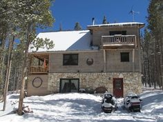 Fort Garland Vacation Rental - VRBO 271603 - 3 BR Southeast Cabin in CO, Remote and Private Mountain Log Home Getaway