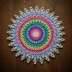 English and Swedish pattern… I hope you have had time to crochet magnoli mandal and my little cherry blossom mandala, for now it's time to crochet Lotus Flower Mandala! Do not forget to…