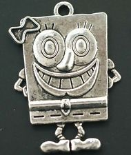 Hot Wholesale 4pcs Tibet Silver Charms Pendant DIY Jewerly 41x28mm T0279 0.88