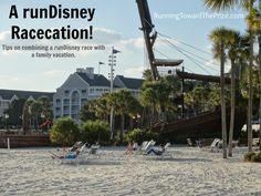 Tips for combining a runDisney race with a family vacation!