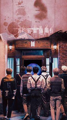 Photos of backgrounds and quotes BTS Magic Shop Lyrics
