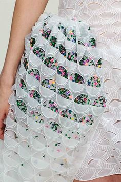 Christian Dior - S/S 14: couture Detail