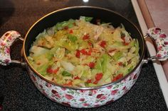 Delicious Mexican Cabbage straight out of Texas!