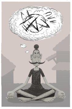 Vigotuda Meditation by Jacobo Fernández Serrano, via Behance