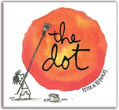 With a simple, witty story and free-spirited illustrations, Peter H. Reynolds entices even the stubbornly uncreative among us to make a mark – and follow where it takes us. Written and Illustrated by Peter H. Reynolds. Published by Candlewick Press. Hardcover book available for $14. © 2003 Peter H. Reynolds