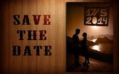 Save the Date: pré-convite feito pelos noivos - Foto Pedro Cibulska
