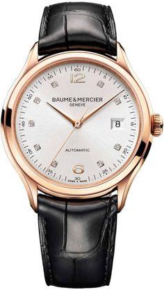 Baume et Mercier Watch Clifton #add-content #bezel-fixed…