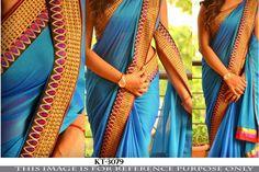 Indian Bollywood Style Heavy Wedding Beautiful Party Designer Saree Sari 3079
