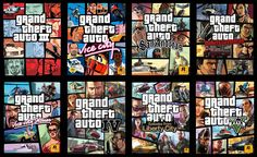 Grand Theft Auto covers from GTA III onward.