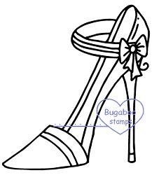 Heels - Strap Bow