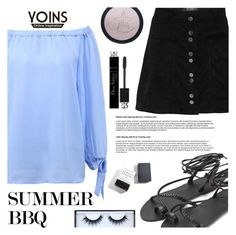 """""""YOINS"""" by gaby-mil ❤ liked on Polyvore featuring Herbivore, Christian Dior, Huda Beauty, yoins, yoinscollection and loveyoins"""