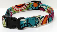 Bubbles Handmade Dog Collar by GoneDoggie on Etsy