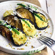 Cannoli salati di melanzane | senza glutine - Cucina Naturale Raw Food Recipes, Vegetable Recipes, Meat Recipes, Vegetarian Recipes, Cooking Recipes, Healthy Recipes, Sicilian Recipes, Best Italian Recipes, Sicilian Food
