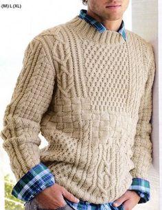 Textured Wool Knit Sweater for Men | Knitwear Inspiration