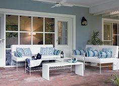 Diseño, Decoracion, Interiores, muebles Outdoor Furniture, Decor, Porch Swing, Sweet Home, Outdoor Decor, Outdoor Chairs, Furniture, Home Decor, Deco