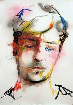 Autoportrait 12 A3  Lou Ros