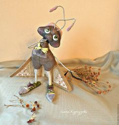 Куклы и игрушки ручной работы. Ярмарка Мастеров - ручная работа. Купить Чердачная моль Анфиса (уже удочерили). Handmade.