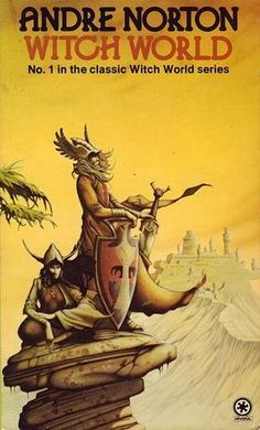 Andre Norton Witchworld series rodney matthews illustrations