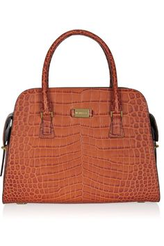 Michael Kors Gia croc-effect leather tote
