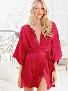 Satin Kimono Very Sexy