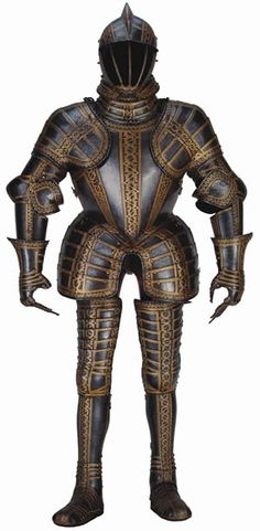Armour of Thomas Sackville, Earl of Dorset and Lord Buckhurst (1587) at the Wallace Collection