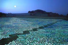 Zilte zee: CD-zee van Bruce Munro