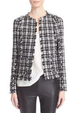 Truth & Pride 'Nocturnal' Tweed - Black/ White $268