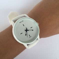 White Silicone Watch  ❗️AVAILABLE❗️Brand new in package • $25 • Water resistant! • Dial diameter: 3.8cm • Band width: 2cm • Band length: 23cm • Water resistant depth: 30m • High Quality! Also available in black (see other listing) Accessories Watches