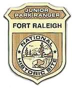 Fort Raleigh, Junior Ranger badge