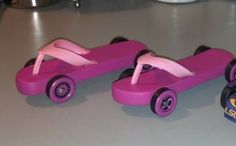 Sibling Pinewood derby cars #cubcontest