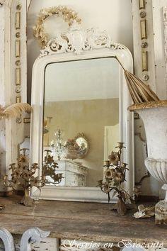 Super mooie spiegel. wonderful old mirror